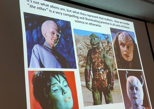Randy Milstein speaks about the technological and cultural impact of Star Trek.